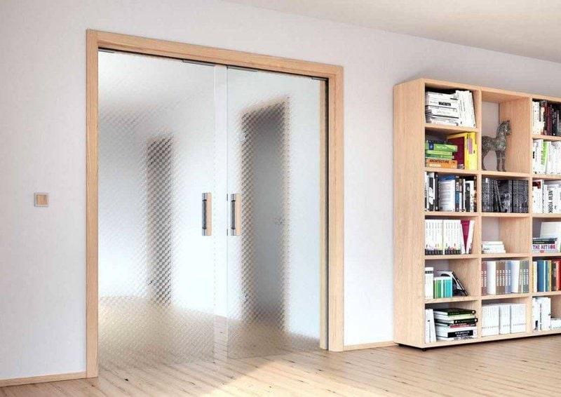 Interierove dvere sapeli sapglass dvoukridlove