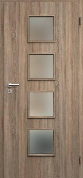 Interierove dvere sapeli domino 3