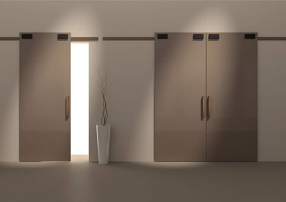 interierove dvere sapeli posuv minima hneda lesk