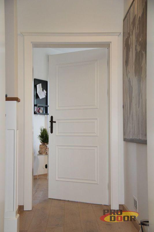 Bílé lakované interiérové dveře Sapeli Bergamo