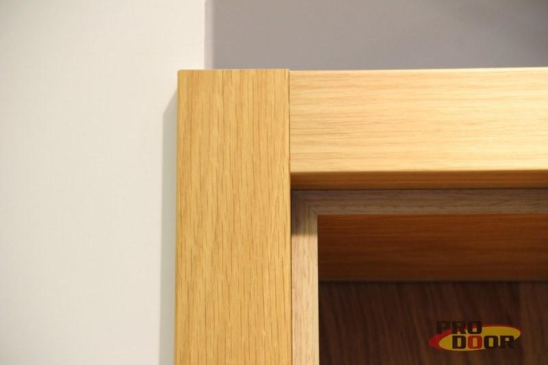 cena dřevěné obložkové zárubně na tupo