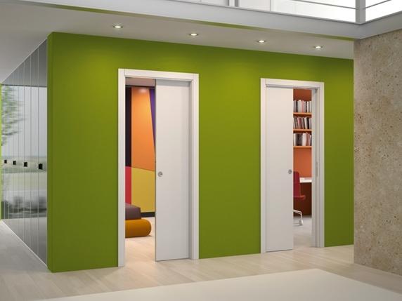 stavebni poudzdro pro posuvne dvere se zakrytem