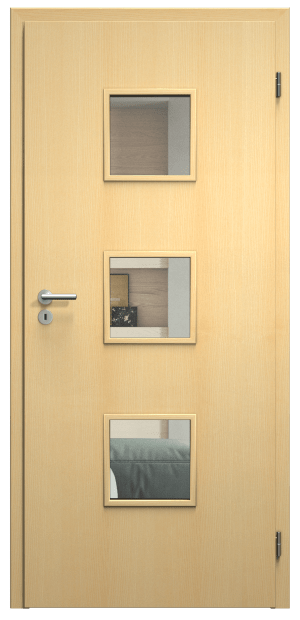 dveře sapeli domino povrchy
