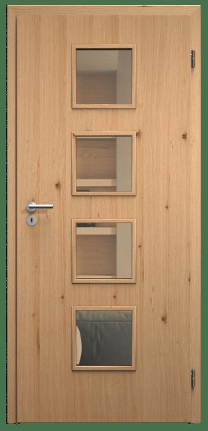 dveře sapeli domino skla