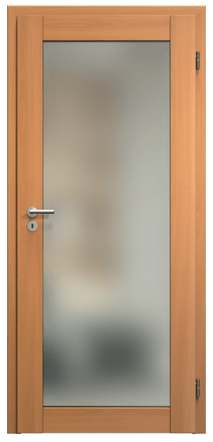 dveře sapeli kubika skla