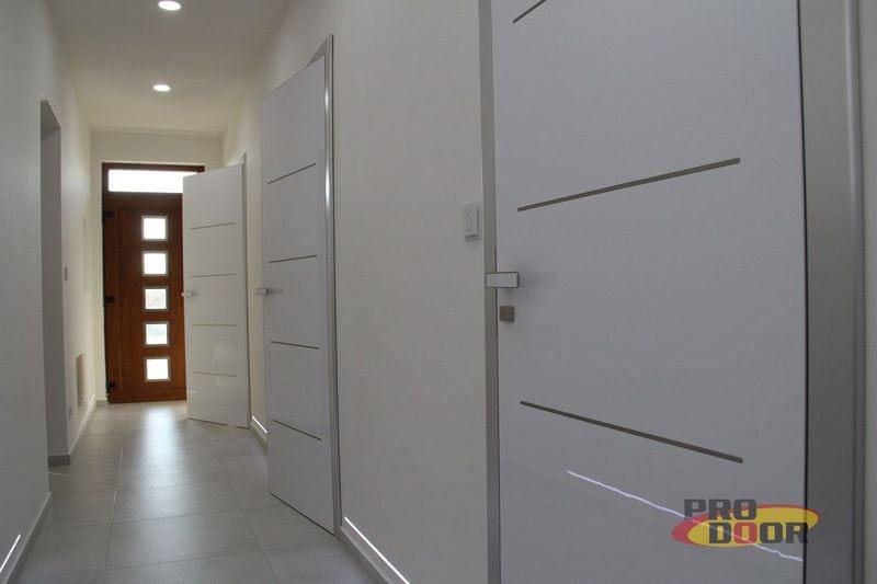 interiérové dveře bíle moderní lotos sapeli litoměřice