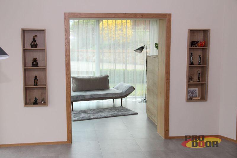 reverzní bezpolodrážkové interiérové dveře RD Klášterec nad Ohří