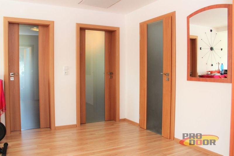 Prosklené dřevěné dveře a posuvné dveře do pouzdra Litoměřice Harmonie