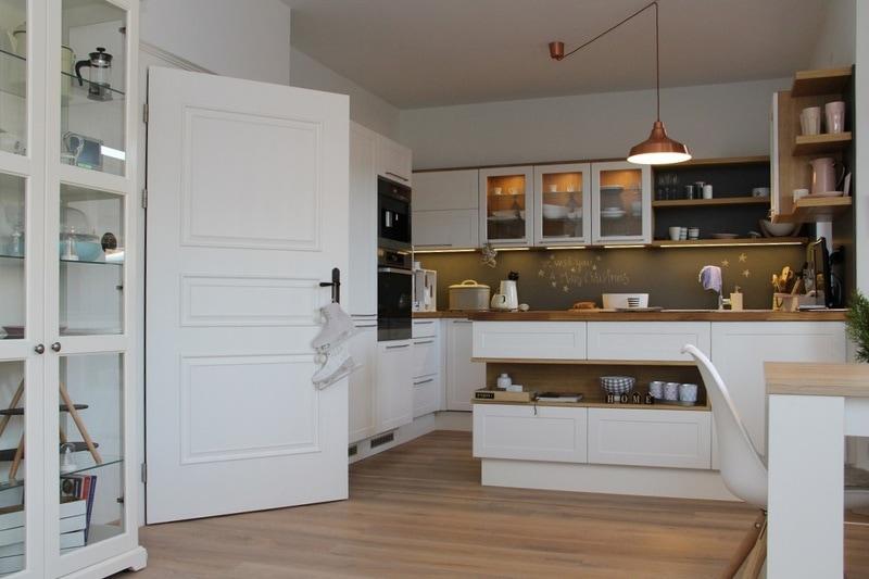 Bílé interiérové dveře cottage styl