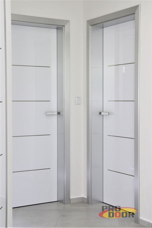 bezfalcové dveře