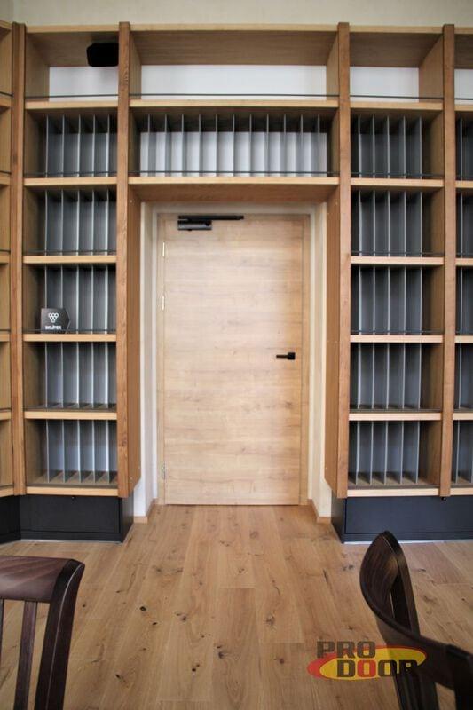 interiérévé dveře a obložkové zárubně dub teplice