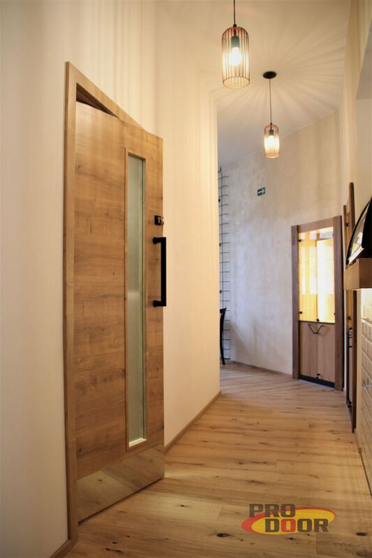 interiérévé kyvné dveře a obložkové zárubně dub teplice