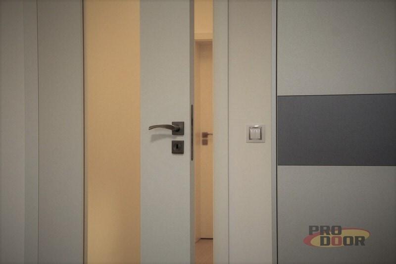 interiérové dveře bíle prosklené teplice sapeli