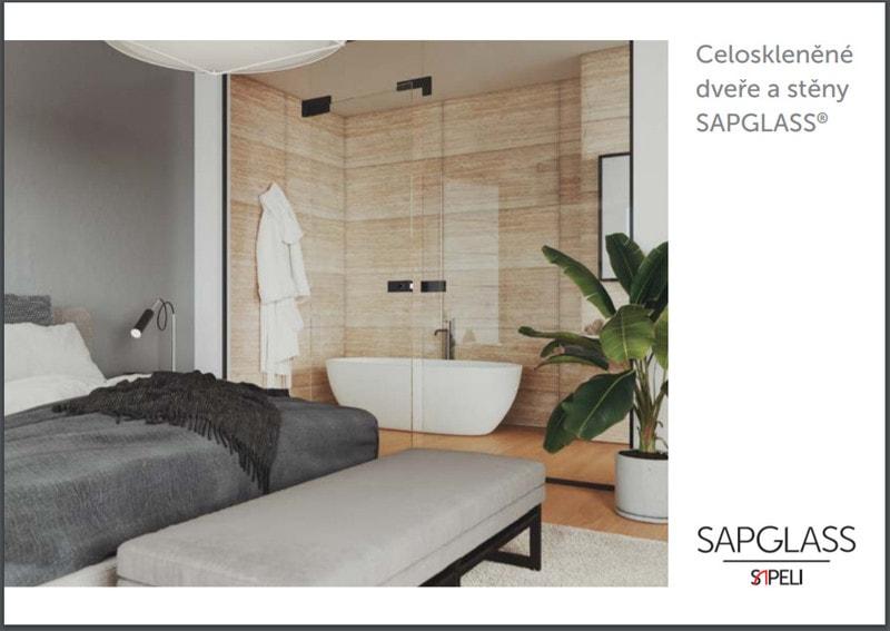 Katalog skleněných dveří a skleněných stěn Sapeli Sapglass