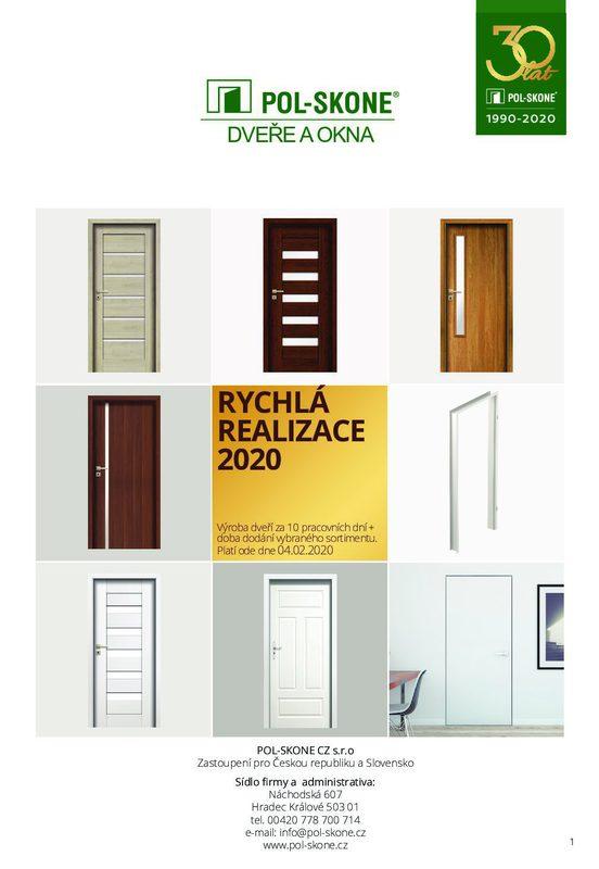 Katalog Polskone dveře a zárubně pdf