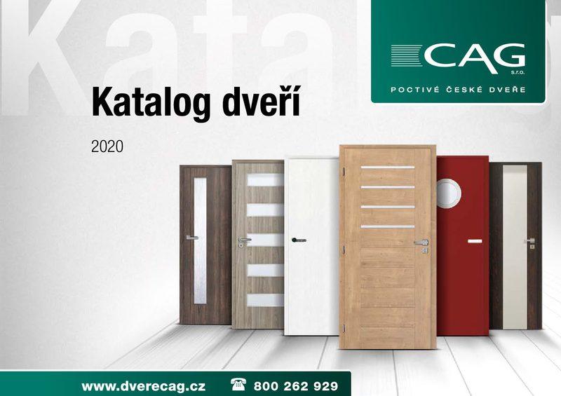 Katalog dveří CAG pdf