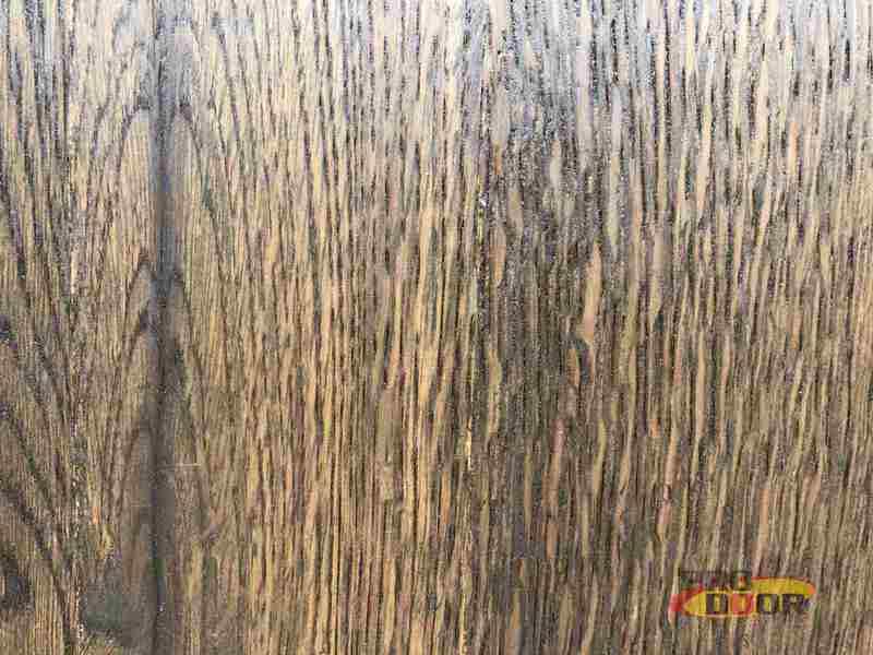 dýha dub mořený olej dveře sapeli