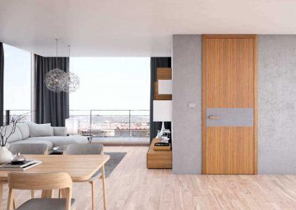 bezfalcové dveře interiérové
